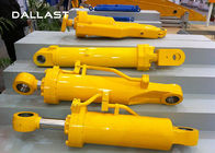 Truck Heavy Duty Hydraulic Cylinder Double Acting Chrome Engineering