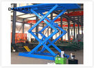 Double Acting Single Piston Hydraulic Scissor Lift  for Engineering Machinery